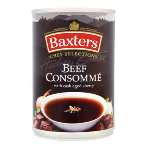 Baxters consomme tin