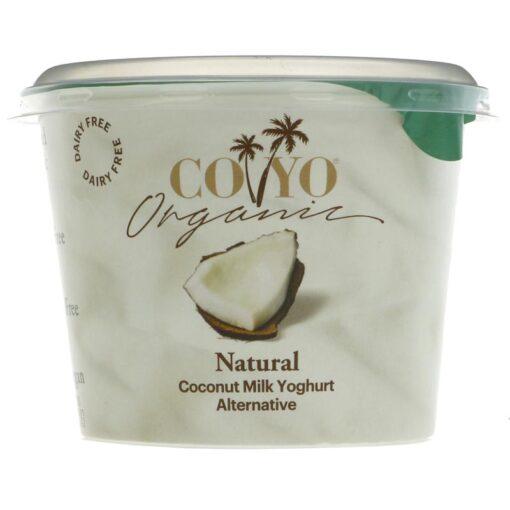 CoYo Natural Coconut Yoghurt