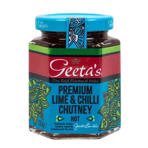 Geeta's Lime and Chilli Chutney