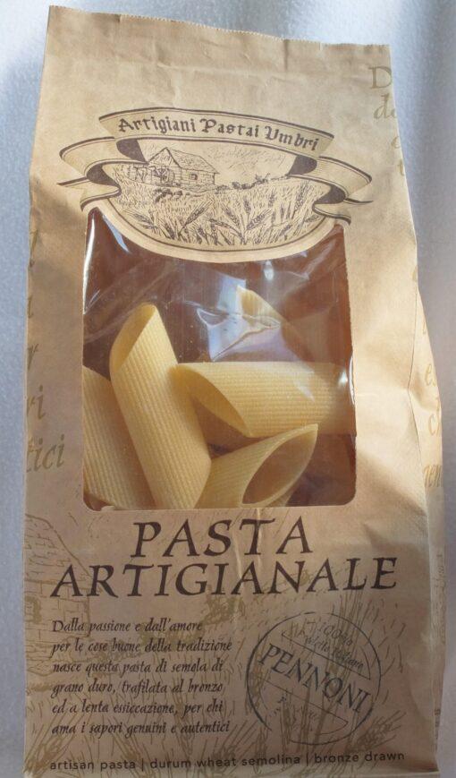 Artisan giant pasta tubes