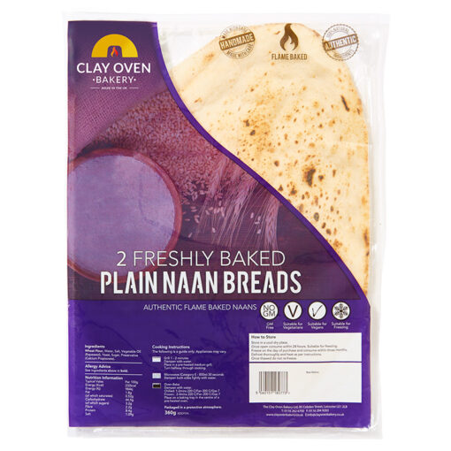 Clay Oven plain giant Naan