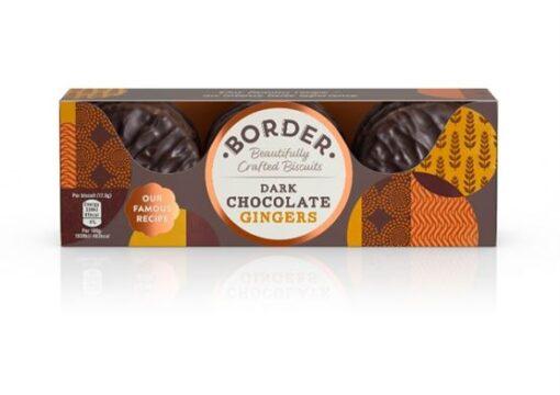 Border Dark Chocolate Gingers