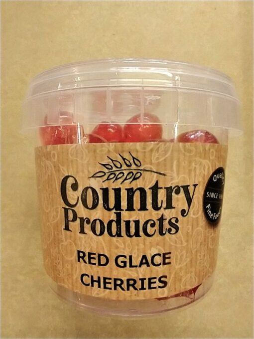 Country Products Red Glace Cherries