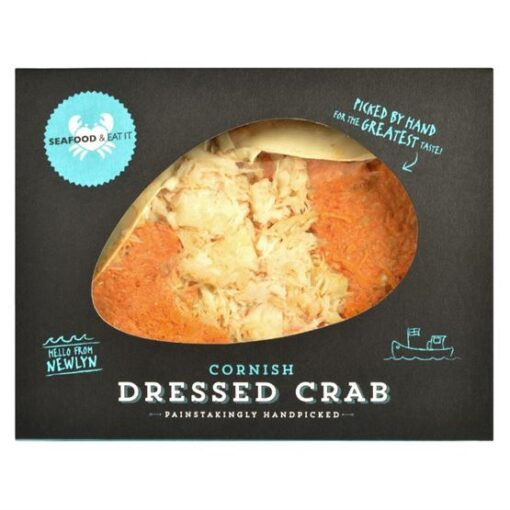 Seafood dressed crab